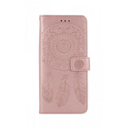 Flipové púzdro na Samsung A21s Lapač snov ružový