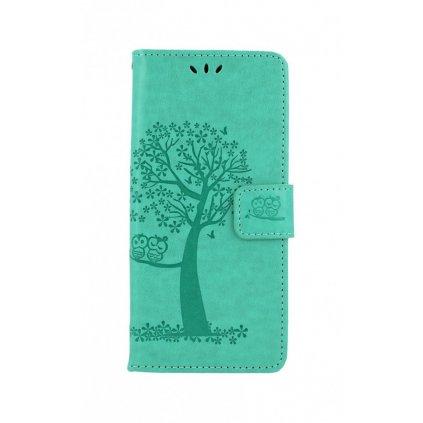 Flipové puzdro na Realme 7i Zelený strom sovičky