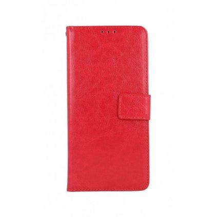 Flipové puzdro na Realme 7i červené koženka