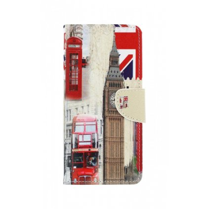 Flipové puzdro na Realme 7i Londýn