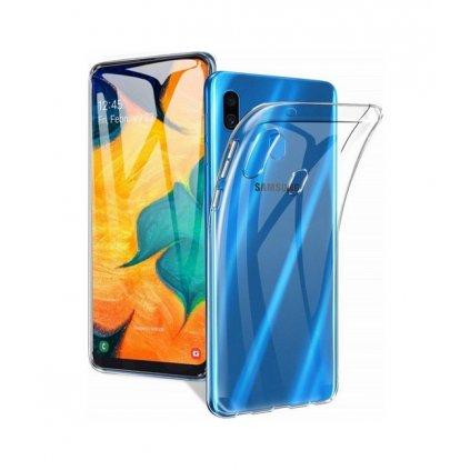 Ultratenký silikónový kryt na Samsung A20e 1 mm priehľadný