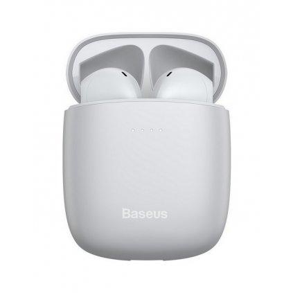 Bezdrôtové slúchadlá Baseus Encok W04 Pro biela