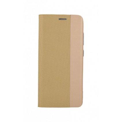 Flipové puzdro Sensitive Book na Samsung S20 FE zlaté
