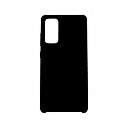 Zadný silikónový kryt Forcell Gummy na Samsung S20 FE čierny