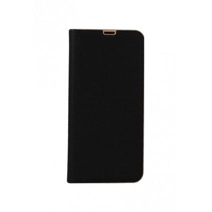 Flipové puzdro Luna Book na Samsung S10 čierne