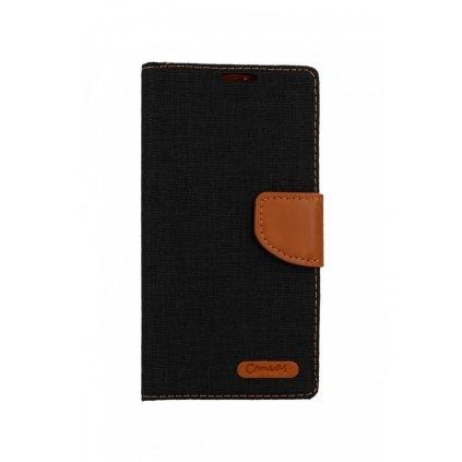 Flipové puzdro Canvas na Samsung S10 čierne