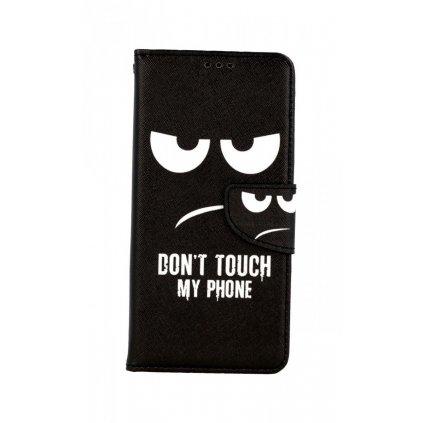 Flipové púzdro na Samsung A12 Don't Touch