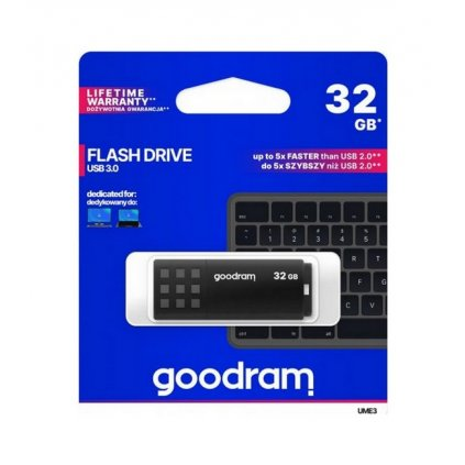 Flash disk GOODRAM UME3 32GB čierny