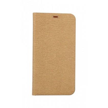 Flipové puzdro Luna Book na Xiaomi Redmi Note 8 zlaté