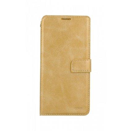 Flipové puzdro Molan Cano Issue Diary na Xiaomi Redmi Note 9T zlaté