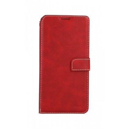 Flipové puzdro Molan Cano Issue Diary na Xiaomi Redmi Note 9T červené