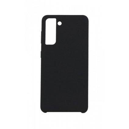 Zadný silikónový kryt Gummy na Samsung S21 čierny