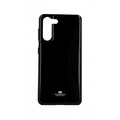Zadný kryt Mercury Jelly Case na Samsung S21 čierny