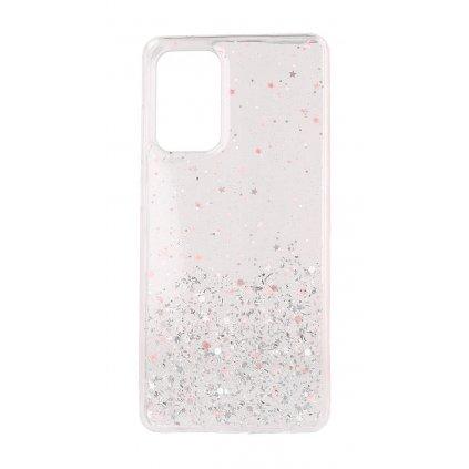 Zadný pevný kryt na Samsung A72 Brilliant Light Pink