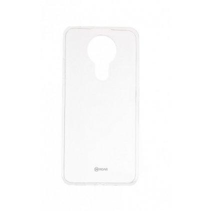 Zadný silikónový kryt Roar na Nokia 3.4 priehľadný