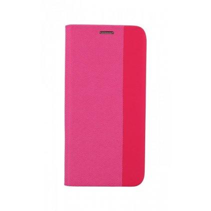 Flipové puzdro Sensitive Book na Samsung A72 ružové