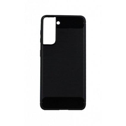 Zadný silikónový kryt na Samsung S21 čierny