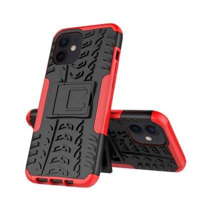 Ultra odolný zadný kryt na iPhone 11 červený