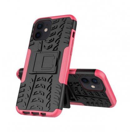 Ultra odolný zadný kryt na iPhone 11 ružový