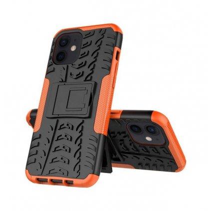 Ultra odolný zadný kryt na iPhone 11 oranžový