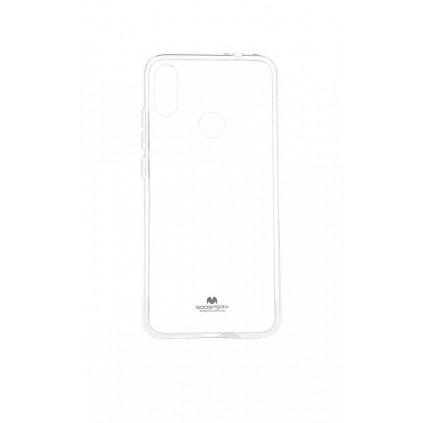 Zadný silikónový kryt Mercury Jelly Case na Xiaomi Redmi Note 7 priehľadný
