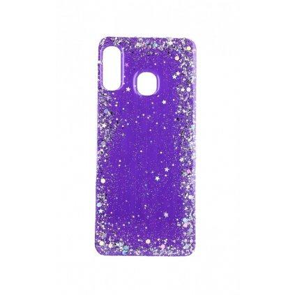 Zadný pevný kryt na Samsung A20e Brilliant Violet