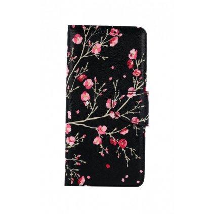 Flipové puzdro na Xiaomi Redmi 9T Nočné kvety