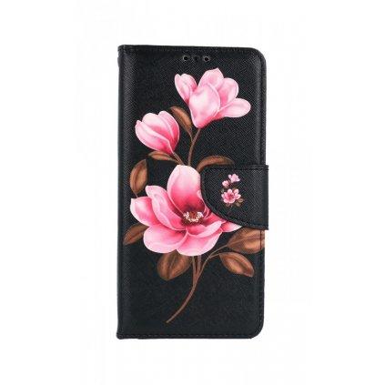 Flipové púzdro na Samsung A52 Tri kvety