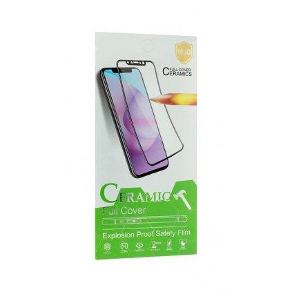 Fólie na displej Ceramic pre Xiaomi Mi 10T Lite Full Cover čierna