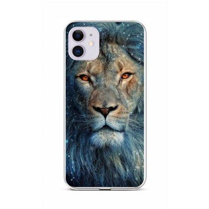 Zadný silikónový kryt na iPhone 11 Čarovný lev
