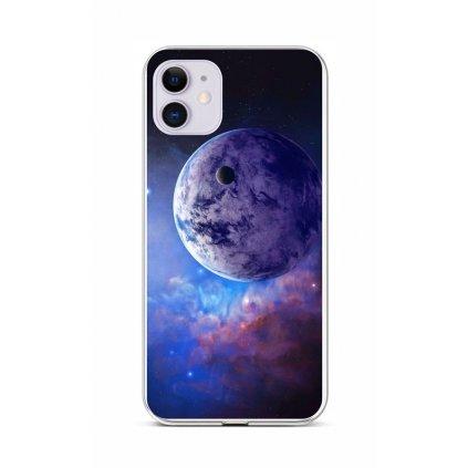 Zadný silikónový kryt na iPhone 11 Planéta