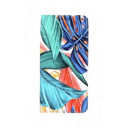 Flipové puzdro Smart Trendy na Samsung A12 Farebné listy