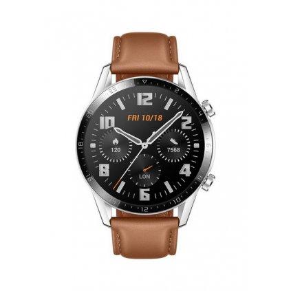 Chytré hodinky Huawei Watch GT 2 hnedé