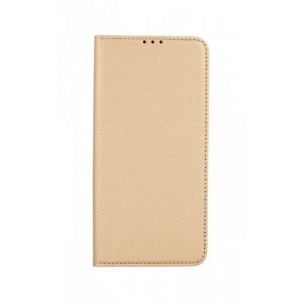 Flipové puzdro Smart Magnet na Samsung S21 Ultra zlaté