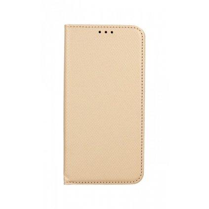 Flipové puzdro Smart Magnet na Samsung S21 zlaté