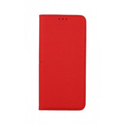 Flipové puzdro Smart Magnet na Samsung S21 Plus červené