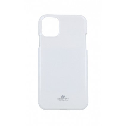Zadný kryt Mercury Jelly Case na iPhone 11 biely