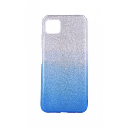 Zadný pevný kryt na Samsung A22 5G glitter strieborno-modrý