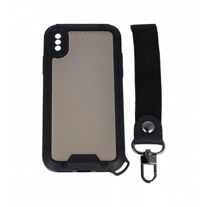 Odolný kryt Shield na iPhone XS tmavý