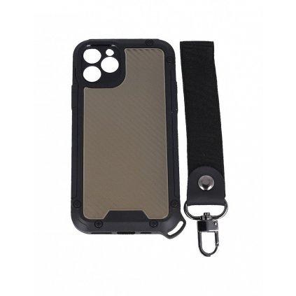 Odolný kryt Shield na iPhone 11 Pro Max tmavý