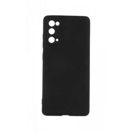Zadný silikónový kryt Forcell Lite na Samsung S20 FE čierny