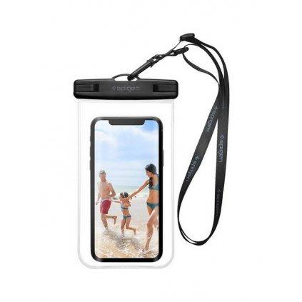 Vodotesné puzdro na mobil Spigen priehľadné