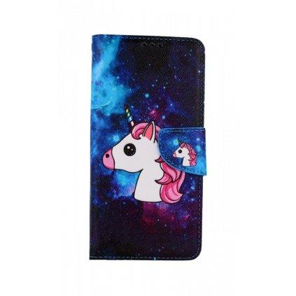 Flipové puzdro na Huawei P30 Lite Space Unicorn