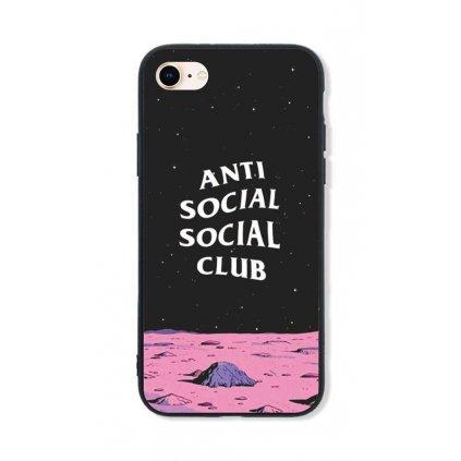 Zadný pevný kryt LUXURY na iPhone 8 Antisocial Club