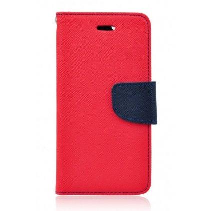 Flipové puzdro čiže obal Samsung J3 2017 červený