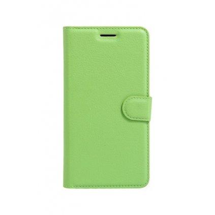 Flipové puzdro na Samsung J5 2017 zelené s prackou