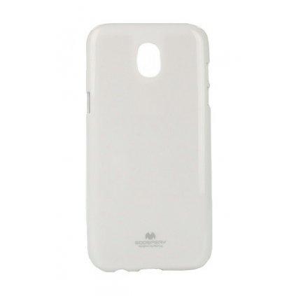 Zadný silikónový kryt Mercury Jelly Case na Samsung J5 2017 biely