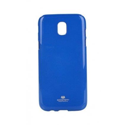Zadný silikónový kryt Mercury Jelly Case na Samsung J5 2017 modrý