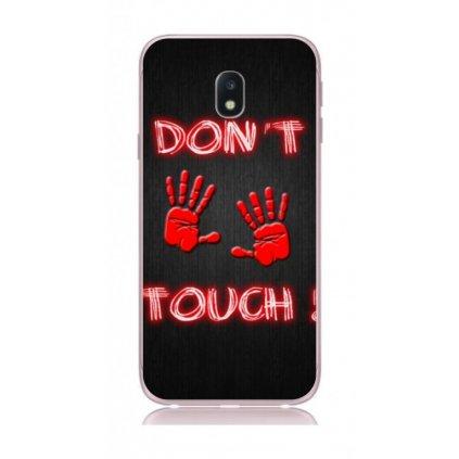 Zadný kryt na Samsung J3 2017 Dont Touch red