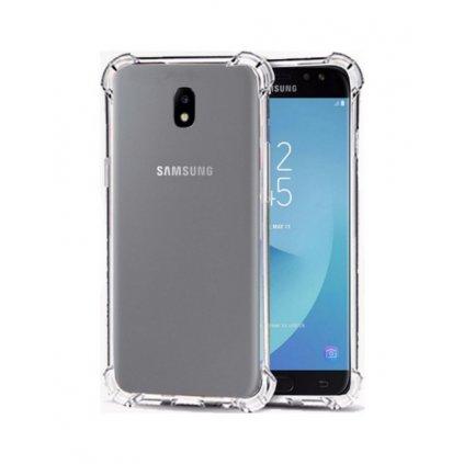 Ultratenký silikónový kryt Shock na Samsung J5 2017 0,5 mm priehľadný